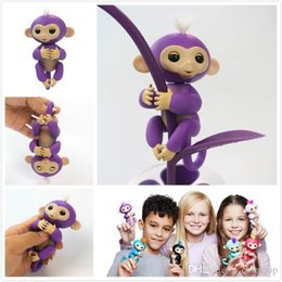 Wholesale Gifts For Fun - Newest Fingerlings Baby Monkeys Wowwe Interactive Finger Toys Electronic Monkey Smart Touch Fun Finger Toys for Kids Christmas Gifts