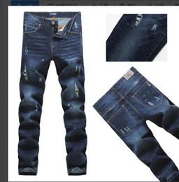 2 Fotos Korean jeans paint im Angebot-Neue ankunft! Männer winter 2015  malen löcher in leder dbefdca61a
