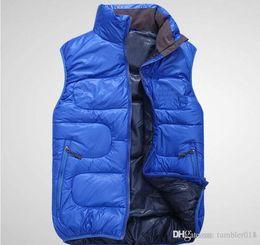 Wholesale Color Value - New Outside the single value selling big T men's Jacket Vest outdoor down vest men high down vest