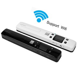 Wholesale Pen Readers - Wholesale- upgrade new Mini Portable Hand-held WIFI High Definition Pen Shaped Scanner for computer PC laptop barcode U reader USB scanner