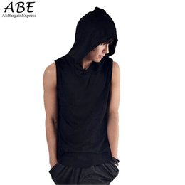 Wholesale Undershirt Tank Tops - Wholesale- New Fashion Mens Sleeveless Tank Top Muscle T-shirts Sportwear Vest Undershirts 10