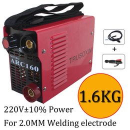 Wholesale Igbt Inverter Welder - 220V New protable DIY welder suitable for 2.0MM electrode IGBT inverter DC hand welding machine equipment   tools with accessory