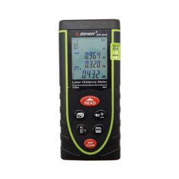 Wholesale Measure Tools - Wholesale-Sndway Digital Laser distance meter 40M Rangefinder Range finder Tape measure Area volume tool 40M 60M 80M 100M available