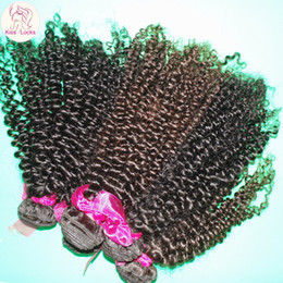 Wholesale Weave Suppliers - Hello Sister New DHgate Supplier Cheap Virgin Brazilian Kinky Curly Human Hair Weave 1 bundle 1 piece Sample Hair