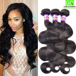 Wholesale Cheap Wavy Remy Hair - Malaysian Body Wave Virgin Remy Human Hair Weaves Queen Hair Products 4Bundles Cheap Wavy Hair Malaysian Virgin Hair Body Wave Tangle Free