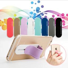 Wholesale Grip Mobile - 2017 Multi Band Phone Holder One Hand Finger Grip Mobile Phone Car Holder with finger ring holder for phone