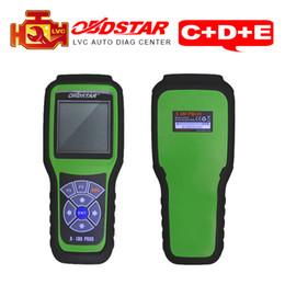 Wholesale Original Odometer Correction - Original OBDStar X-100 Pros OBD2 Auto Key Programmer + Odometer correction tool + OBDII diagnostic tool x100 C+D+eeprom