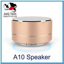Wholesale Wholesale Call Center Phones - A10 Bluetooth Speaker Outdoor Speaker Handfree Speakers Support TF Card Call Function Stereo Speaker with Retail Box