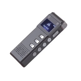 Wholesale Professional Speakers - Professional Rechargeable 8GB Digital Audio Voice Recorder Dictaphone VOR MP3 Player Built-in speaker support expansion TF card