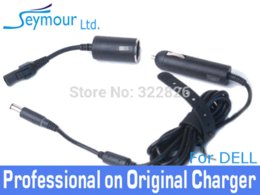 Wholesale Ems Aa - Genuine ADP-90ND AA CD90V190-00 90W Car Automobile Travel DC Power Adapter For Dell D09RM 28F6C H536T DHL EMS FREE SHIPPING