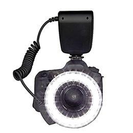 Wholesale Dslr Light Ring - New Travor RF-550E Macro LED Ring Flash Light for Sony DSLR Camera A900 A850 A700 NEX-7