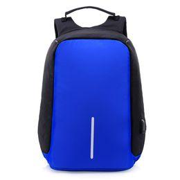 Wholesale Multifunctional Laptop Backpack - Men Backpack Anti theft multifunctional Oxford Casual Laptop Backpack Fashion Waterproof Travel Bag Computer Bag