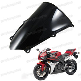 Wholesale Double Honda Cbr - New Motorcycle Double Bubble Windscreen Fairing Windshield Lens ABS for Honda CBR 600RR 2007-2012 2008 2009 2010 2011