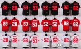Wholesale Cheap Discounted Football Jerseys - NEW #28 Carlos Hyde #52 Patrick Willis #38 Jarryd Hayne #82 Torrey Smith Cheap discount football jerseys Elite Embroidery High Quality