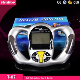 Wholesale Cheapest Calculators - 2016 Professional Cheapest Digital LCD Body Fat Monitor Fat Analyzer Health Monitor BMI Meter Tester Calculator MOQ 1PCS for health care
