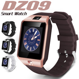 Erinnerungsuhr online-DZ09 Smart Watch Dz09 Bluetooth Smart Uhren Android Smartwatches SIM Intelligent Handy-Uhr mit sitzender Erinnerung Anruf annehmen