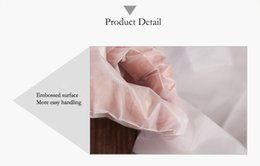 Wholesale Glove Disposable Powder Gloves - Disposable Poly Casting PE Gloves Food Service Safety Glove Powder , latex& Sulfur Free 100pcs box
