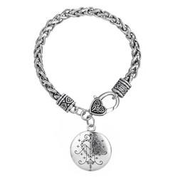 Myshape Ogou Feray Voodoo Loa Veve Pendentif Bracelets Talisman pour Victory Bijoux Hoodoo Amulette Cadeaux pour Noël Et Halloween Cosplay De ? partir de fabricateur