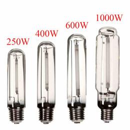 Wholesale Sodium Lights - Modern Design E40 250W 400W 600W 1000W HPS Lamp White Light High Pressure Sodium Flower Bulb Plant Grow Light For Ballast