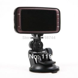 Wholesale Video Postings - HD 1080P 2.7 inch Car DVR Vehicle Camera Video Recorder Top Quality Dash Cam HDMI G-sensor GS8000L 1pc singapore post free