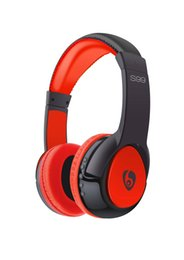 Wholesale Over Ear Headphones Microphones - New S99 Wireless Bluetooth Headset Headphone Over-ear Stereo Headband Gaming Earphone with Microphone for Mobile Phone