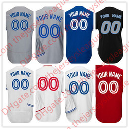 Wholesale Custom Wine Coolers - Custom Mens Toronto #20 Donaldson Sanchez Osuna White Gray Blue Personalized Stitched Any Name Any Number Cool Flex Base Jerseys S-4XL
