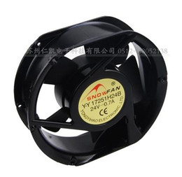 Wholesale axial flow fans - New: brushless DC 24V 17cm 1725017251 dual ball bearing axial flow fan 17251H24B-0.70A