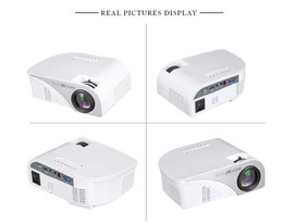Wholesale Micro Projector Lcd - Gigxon - G8005B Mini HD 1080P LED Portable Projector with 2USB SD VGA 2HDMI AV  TV Micro USB