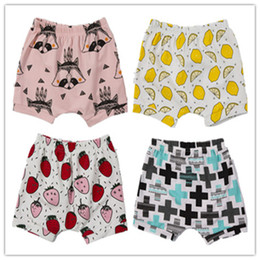 Wholesale Loose Pants For Kid Girls - Casual Pants Kids Clothing Baby Shorts For Summer Toddler clothes Girls Boys Bloomers Teepee pants Children Shorts hight quality 306