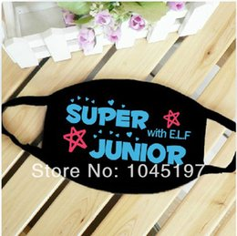 Wholesale Super Junior Mask - Wholesale-SUPER JUNIOR SJ KPOP Mask NEW