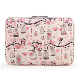 Wholesale S3 Cases Floral - Tablet sleeve case pouch free the birds design for ipad air 2 mini 4 galaxy tab s3 x5 pro surface m3 tbook zenpad