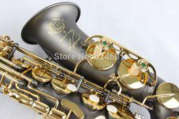 Wholesale Alto Saxophone Black - Wholesale-Copy France Henri alto saxophone Reference 54 black nickel gold