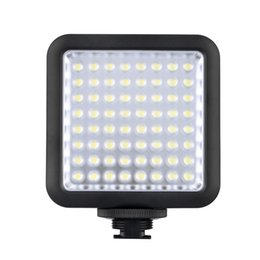 Wholesale News Free - Godox LED64 LED Video LED Lamp for DSLR Camera Camcorder mini DVR as Fill Light for Wedding News Interview Macro photography DHL free ship