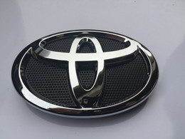 Wholesale Toyota Camry Emblems - NEW 2007-2009 TOYOTA CAMRY HOOD GRILL BLACK & CHROME GRILLE EMBLEM 75311-06060 Free shipping YY192