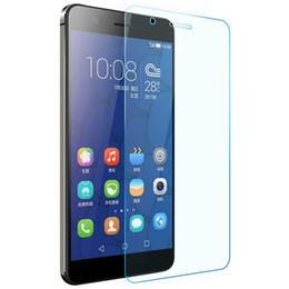 Huawei 3x film online-Top Quality 9 H Premium Vetro Temperato Per Huawei Honor 3X / 4C / 4X / 6/6 Più / 7 / G620S / P6 Pellicola Della Protezione Dello Schermo 100 pz / lotto spedizione gratuita
