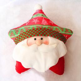 Wholesale Cute Snowman Plush - Christmas decorations christmas gift Party decoration Cute pillow Baby kids 25*40cm Plush toys accessories Santa Claus snowman 2016
