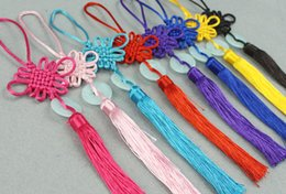 Wholesale Crafts Macrame - Chinese knot Chinese style Gift Decoration Beautiful Colorful Small Macrame High quality Hand craft Artware Inexpensive