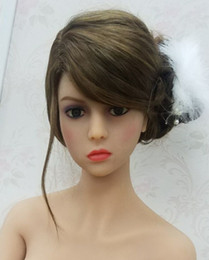 Wholesale solid silicone oral sex dolls - DL #79 big size silicone sex doll head for big size sex doll , oral sex doll heads silicone product