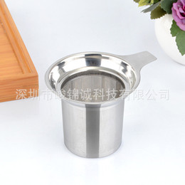 Wholesale Coffee Mesh - Stainless Steel Strainer Leaf Coffee Tea Infuser Filter Easy To Clean Mesh Teas Strainers With Handle 6 5jj B