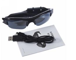 Wholesale Sports Video Cam Recorder - Spy cameras 720*480 30fps Eyewear sunglasses Hidden Glasses camera sports Dvr Video & Audio Recorder spy cam listen device