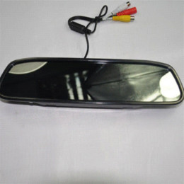 Wholesale Car Rear View Mirror Price - Best Price 4.3 Inch Special Rear View Mirror Monitor 480 X 272 Car Monitor With TFT-LCD Display Free Shipping