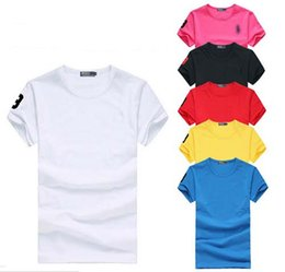 Wholesale Organic Cotton T - Free shipping 2016 High quality cotton new O-neck short sleeve t-shirt brand men T-shirts casual style for sport men T-shirts