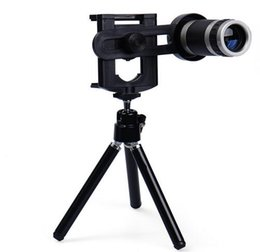 Wholesale Zoom 8x Phone - Hot sale 8X Zoom Optical Lens Telescope for Camera Mobile Smart Cell Phone 8x lens for Iphone7 7Plus Samsung S8 Note 8