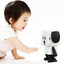 Wholesale Rhythm Types - Portable robot-type speaker that uses bluetooth wireless technology ,can dance with the rhythm of music and do the dance movements