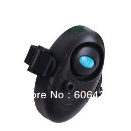 Wholesale Bite Alarm Buzzer - 4PCS lot high luminance Fishing Fish Bite Alarm Rod Sound Buzzer LED Light Clip sound can Adjust