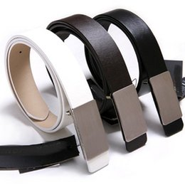 Wholesale Young Wind - The simple atmosphere and the wind belt young men Korean fashion leisure men and women all-match flat belt general belt