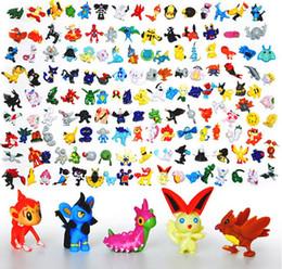 Wholesale Wholesale Doll Supply - Japanese figures set 144pcs poke mon pikachu charizard figurine figuras doll lot for kids party supply decor
