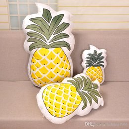 Wholesale Car Color Personality - Personality Fruits Pillow Bedroom Sofa Decorative Articles Comfortable Cacti Car Soft Cushion Birthday Gift For Children 14 1bm C R