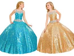 Wholesale Luxurious Pageant Dresses - 2016 Custom Made Size Luxurious High Quality Girls Pageant Dresses Flower Kids Skirts By Rachel Allan Rhinestones Belt Children Dress Prom