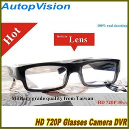 Wholesale Digital Glasses Eyewear - 1280*720P HD Eyewear Glasses Hidden 30fps Mini DVR Spy Glasses Digital Video Camcorder with 8GB 16GB 32GB Memory
